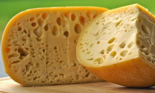 Swiss type cheese