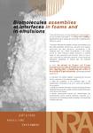 Plaquette Biomolécules et Interfaces