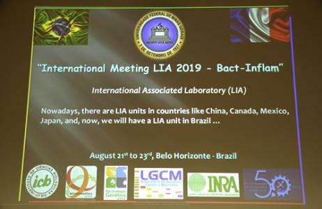 Séminaire LIA BactInflam 2019