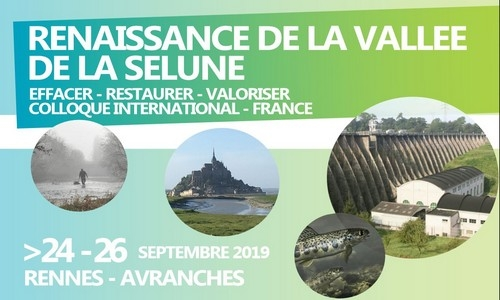 International congress on the removal of dams and the renaturation of the Sélune River