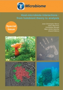 Holobiontes numéro spécial de la revue Microbiome