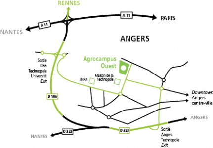 Access Map Angers