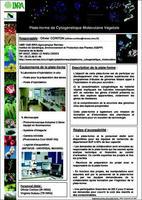 Poster de la plateforme de cytogénétique moléculaire végétale