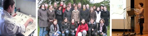 Members of the RCA team