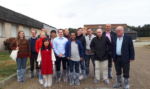 2019.09.09 - Visite d'étudiants de l'université de Gand