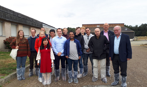 2019.09.09 - Students and scientists of the university of Ghent in Pegase