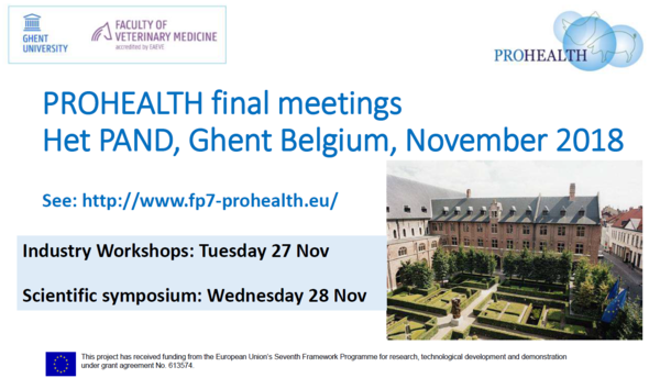 Affiche Prohealth final meeting