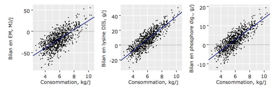 Bilan nutritionnel - consommation d'aliment