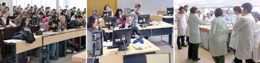 Etudiants Master et ingénieurs en formation