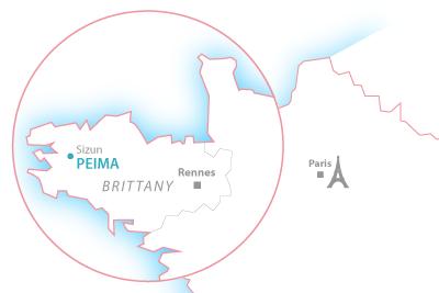 PEIMA Fish Farm localisation