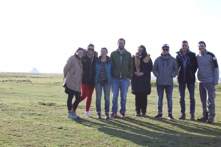 les experts du WKEELDATA2 en visite sur l'observatoire de l'Oir et au Mont-St-Michel