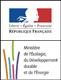 Logo du Ministere de l'écologie