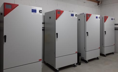 Installation et mise en service  d'armoires thermo et photo régulées sur la plateforme PEARL